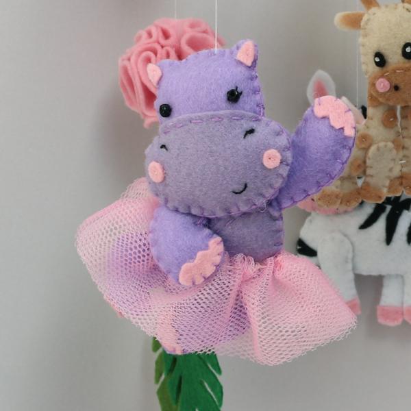 girl hippo in tutu