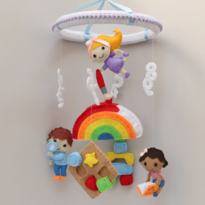 Montessori School baby mobile
