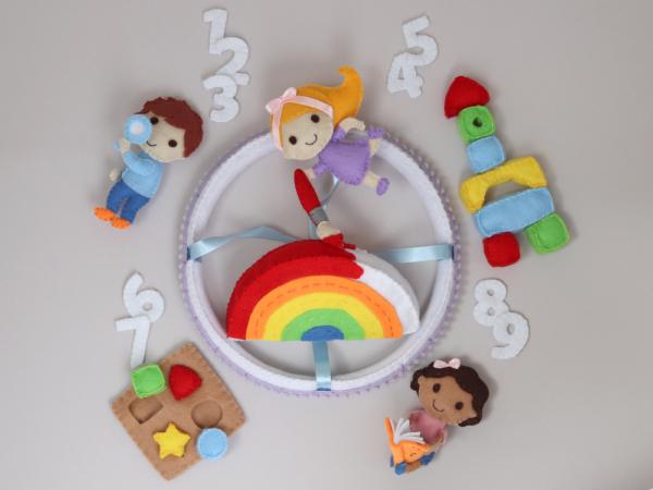 Montessori School baby mobile