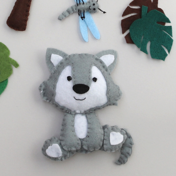 felt wolf